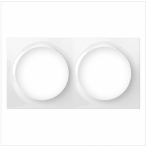 Fibaro Double Cover Plate